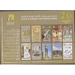 E) 2013 KUWAIT, 20 YEARS FOR THE ESTABLISHMENT OF KUWAIT , UAE