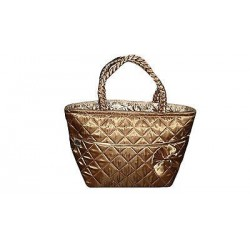 Beautiful bronze color bag. Size: 13.38 x 7.87 (34 x 20 cm)