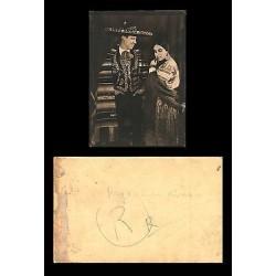 E)CIRCA 1940 MEXICO, COUPLE, MEN AND WOMAN, TRADITIONAL COSTUMES, PHOTOGRAPY