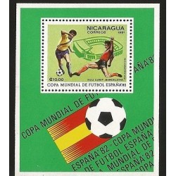 E)1981 NICARAGUA, FIFA WORLD CUP SPAIN 1982, CAMP NOU, FOOTBALL, PLAYERS