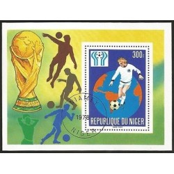 E)1978 NIGER, WORLD CUP SOCCER 1974 CHAMPIONSHIP, MUNICH-GERMANY, VICTORY
