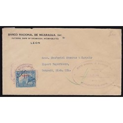 B) 1933 NICARAGUA, NATIONAL BANK OF NICARAGUA INC, NATIONAL PALACE MANAGUA, OFI