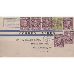 B)1931 GUATEMALA , PALACE, CHARACTER, LORENZO MONTUFAR MULTIPLE, NATIONAL P