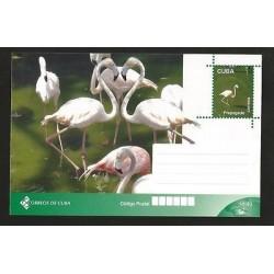 E)2015 CARIBBEAN, FLEMISH, BIRD, ANIMALS, MAXICARD