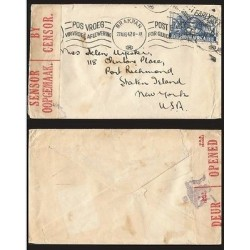 B)1942 SOUTH AFRICA, WORKING WOMEN, FIGHT, WOMEN, WAR EFFORT, CIRCULATED COVER