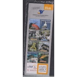 O) 2011 ECUADOR, BOOKLET, GALAPAGOS ISLANDS, HABITAT ANIMALS, XF