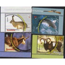 E) 2013 ROMANIA, DIFFERENT ANIMALS SOUVENIR SHEET, MNH