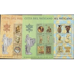 O) 1983 VATICAN, ART PAINTING CRAFTS SCULPTURES, THE PAPACY AND ART, THE VATICAN