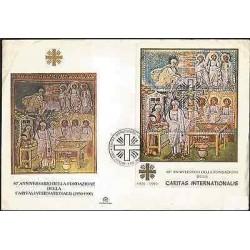 E)2000 VATICAN, 40TH ANNIVERSARY OF THE INTERNATIONAL CARITAS FOUNDATION, RELIGI