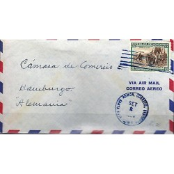 G)1952 HONDURAS, SURRENDER OF GRANADA-CATHOLIC KINGS-HORSES, CIRCULATED COVER TO