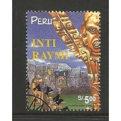 E)1998 PERU, TOURISM, INTI RAYMI, 1176, A523, MULTICOLORED, MNH