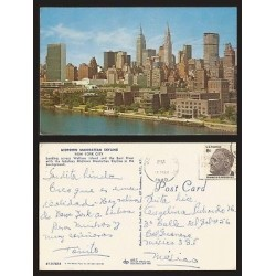B)1970 USA, CITY, ISLAND, MEN, FRANKLIN D ROOSEVELT, 6 CENTS, MIDTOWN MAN