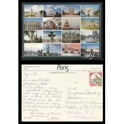 B)1989 ITALY, FRENCH LANDSCAPE, MONUMENTS, CASTLE, MEDIAEVAL BUILDINGS, CASTLE