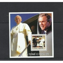 O) 2003 SAO TOME AND PRINCIPE, POPE JOHN PAUL II - PRESIDENT GEORGE W. BUSH, SOU
