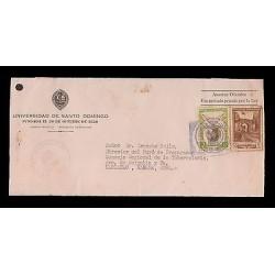 E)1949 DOMINICAN REPUBLIC, UNIVERSITY OF SANTO DOMINGO, CHURCH OF SAN FRANCISCO