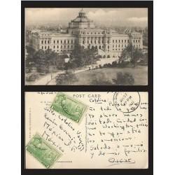 B)1937 USA, ARCHITECTURE, BUILDING, 1 CENT JOHN PAUL JONES & JOHN BARRY, BLOCK O