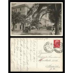 B)1931 ITALY, BUILDINGS, ARCHITECTURE, SCOTT A94, 75C ROSE RED, HOTEL CONCORDIA,