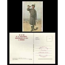 B)1907 ROMANIA, SOLDIER, HISTORY, 100 YEARS INDEPENDENCE OF THE STATE OF ROMANI