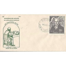 B)1964 MEXICO, SCIENTIFIC, BICENTENNIAL OF BIRTH OF MEXICAN METALLURGISY, ANDRES