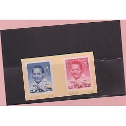 E)1956 COLOMBIA,PROOFS, ISSUE TO HONOR 167 YEAR OLD JAVIER PEREIRA, 669 A282