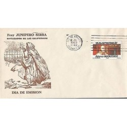 B)1969 MEXICO, CIVILIZING OF THE CALIFORNIAS, ISSUE IN HONOR OF FATHER JUNIPERO