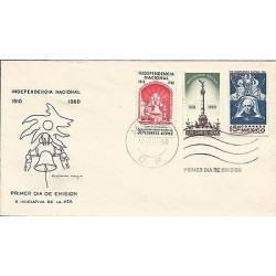 B)1960 MEXICO, MEXICAN INDEPENDENCE, NATIONAL INDEPENDENCE 1810, ANGEL OF INDEPE
