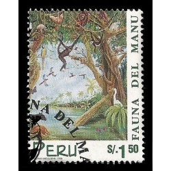 E)1998 PERU, FAUNA OF MANU, NATIONAL PARK, ANIMALS, JUNGLE, BIODIVERSITY, 1196