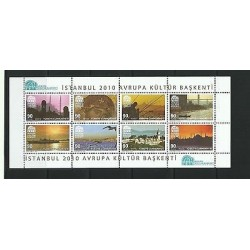 O) 2010 TURKEY, ARCHITECTURE, CUMHURIYETI CAPITAL OF CULTURE, LANDSCAPES, MNH