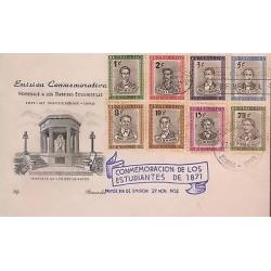E)1952 CARIBBEAN, PORTRAITS, ALONSO ALVAREZ DE LA CAMPA, CARLOS A. LATORRE, ANA