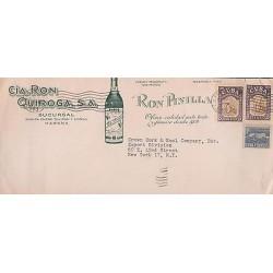 E)1953 CARIBBEAN, MARTI AT ST. LAZARUS QUARRY, PAIR OF 2, RUM QUIROGA, RUM PINI