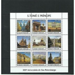 O) 2003 SAO TOME AND PRINCIPE, JEWELS OF ARCHITECTURE, CULTURAL CITY ST. PETERSB