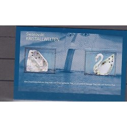 O) 2004 AUSTRIA, ODD SHAPE, BIRD SWAN, WHIT SWAROVSKI, CERTIFICATE OF AUTHENTICI