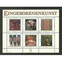 O) 2003 AUSTRIA-VIENNA, EINGEBORENEN ART, MINI SHEET MNH.