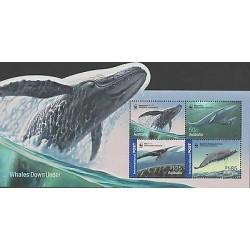 O) 2006 AUSTRALIA, WWF, ODD SHAPE, WHALE - BALAEEN WHALE - MYSTICETI, CETACEO MI