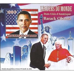E) 2010 MALI, WORLD LEADERS, PRESIDENT BARACK OBAMA AND POPE BENEDICT XVI