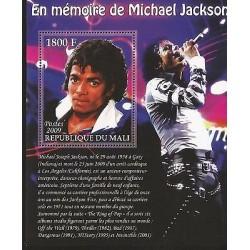 E)2009 MALI, MICHAEL JACKSON MEMORY, FAMOUS PEOPLE, MUSIC, SINGER, MNH