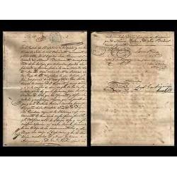B)1880 CARIBBEAN, REVENUE, SPANISH COLINIES, CARIBE REVENUE PAPER, PAPER SEALE
