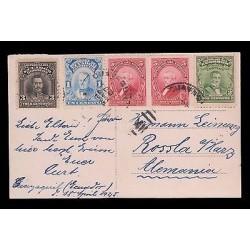 E)1915 ECUADOR, PRESIDENTS, ROBLES,ROCA ,URVINA PAIR OF 2, NOBOA, POSTCARD
