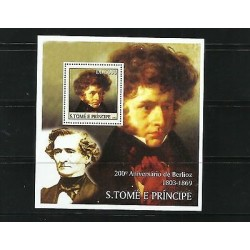 O) 2003 SAO TOME AND PRINCIPE, HECTOR BERLIOZ-COMPOSER OF ROMANTICISM AND ORCHES