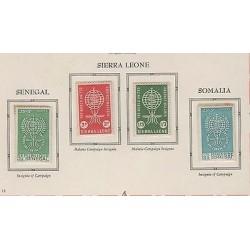 O) 1962 SIERRA LEONE,MOSQUITO, ZANCUDO TRANSMITS MALARIA, SET MNH