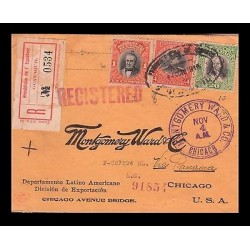 E)1815 ECUADOR, PRESIDENT, ROCA, VALDEZ, CARRION, MONTGOMERY WARD &CO, REGISTERE