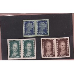 O) 1952 ARGENTINA, PROOF, EVITA PERON-POLICY AND ACTRESS DISTINCTION ISABEL THE