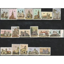 E) 1977 ANGOLA, CATHEDRAL, RELIGION, HISTORY, CHRISTIANITY SET, MNH