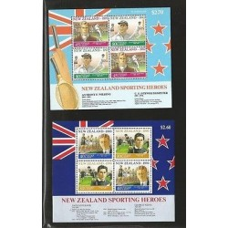 B)1992 NEW ZEALAND, SPORTS, TENNIS, FAMOUS, SPORTING HEROES, SPORTSMEN, 90-92