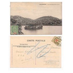 E) 1903 MADAGASCAR, FRENCH COLONIES, POST CARD TANANARIVE