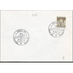 E)1967 GERMANY, HORSE RIDING, MARCOPHILIA