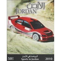 o) 2010 JORDAN, CARS RACING, SPORTS, SOUVENIR MNH
