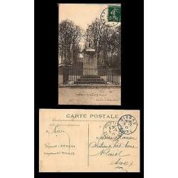 E)1911 FRANCE, GENERAL BLANMONT, POSTCARD, XF