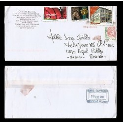 E)2010 ITALY, ITALIAN JOB FOR THE WORLD, CIRCULATED COVER TO MEXICO