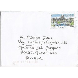 E)1974 FRANCE, BRIDGE, RIVER SENA, JOINT ISSUE FRANCE-CHINA, CIRCULATED COVER